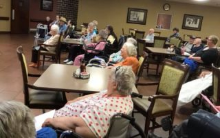 resident activity dining