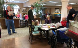 residential Dining activity