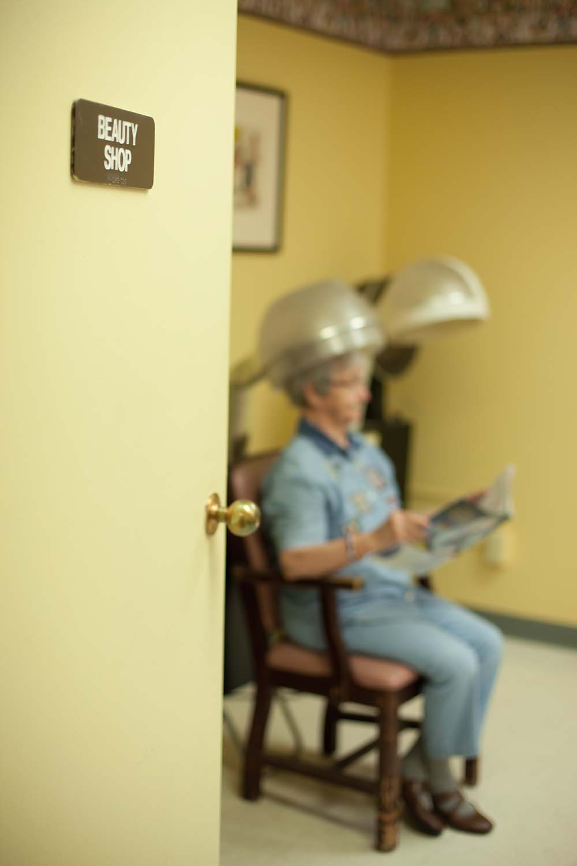 Taylorville Care Center Salon services